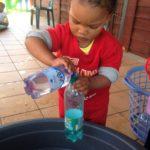 spelen met water 2-3jarigen